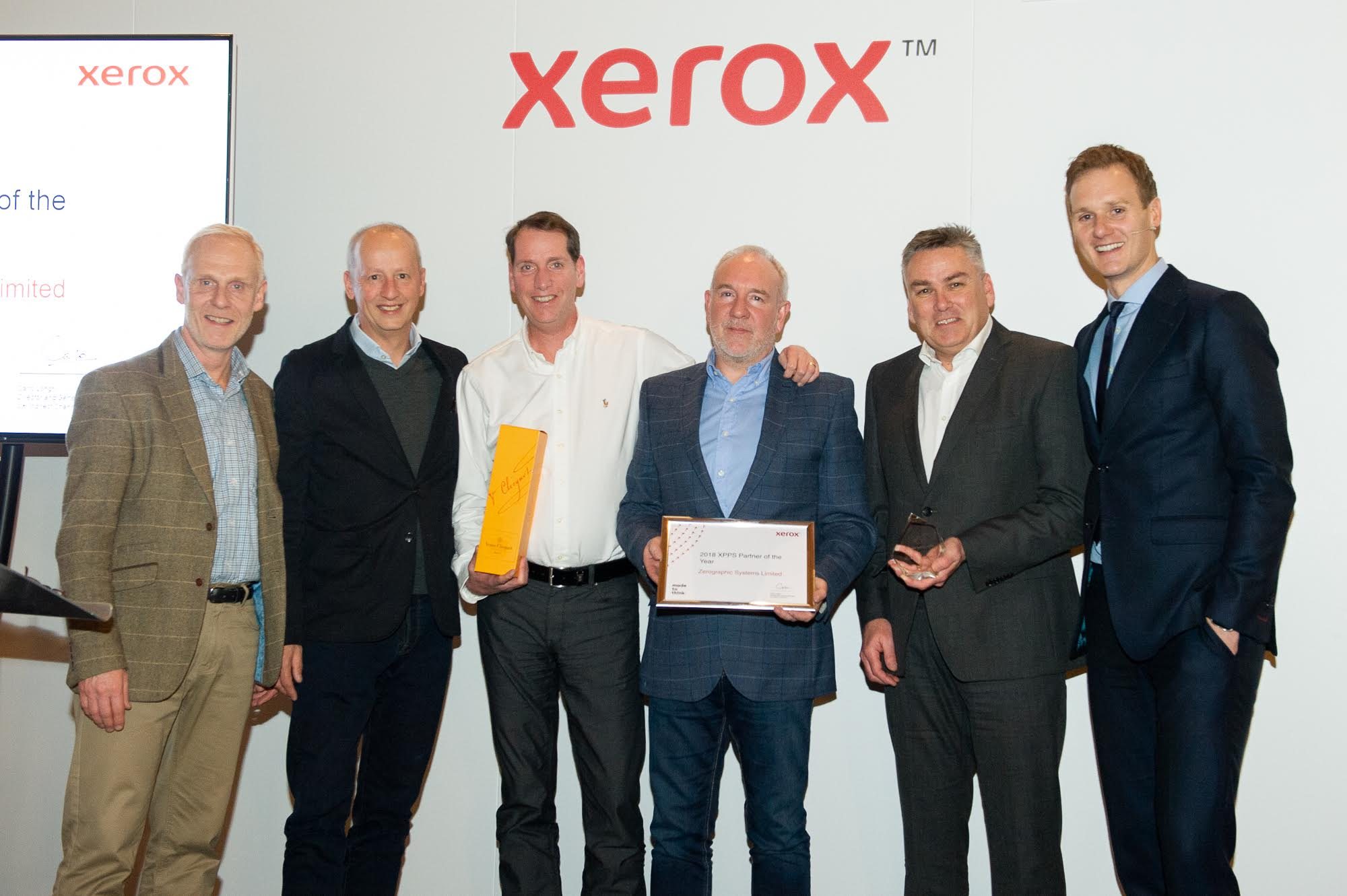 Zerographic win Xerox XPPS Partner of the Year 2018